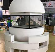 360全息投影展示柜
