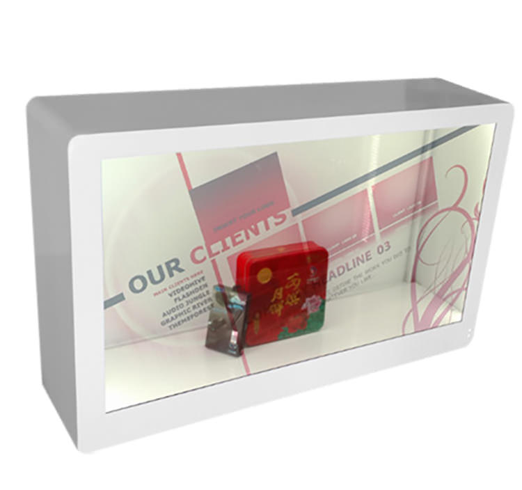 透明液晶展示柜定制
